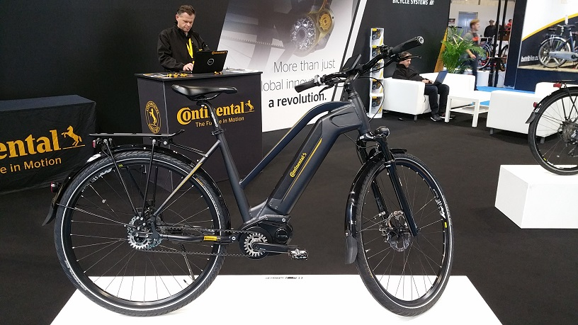 Continental eBike drive and battery system – overview and basic test