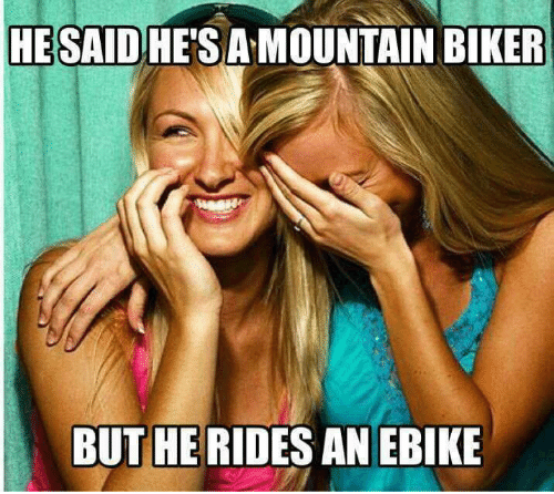 eBikes: The Haters!